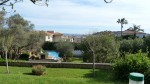 Vue Piscine et Saint Tropez